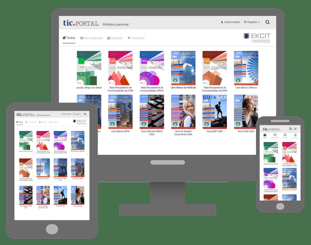 biblioteca digital tic