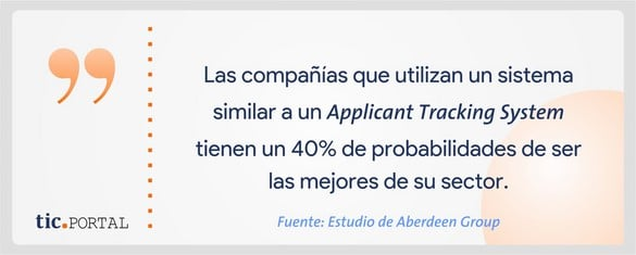 applicant tracking system ventajas
