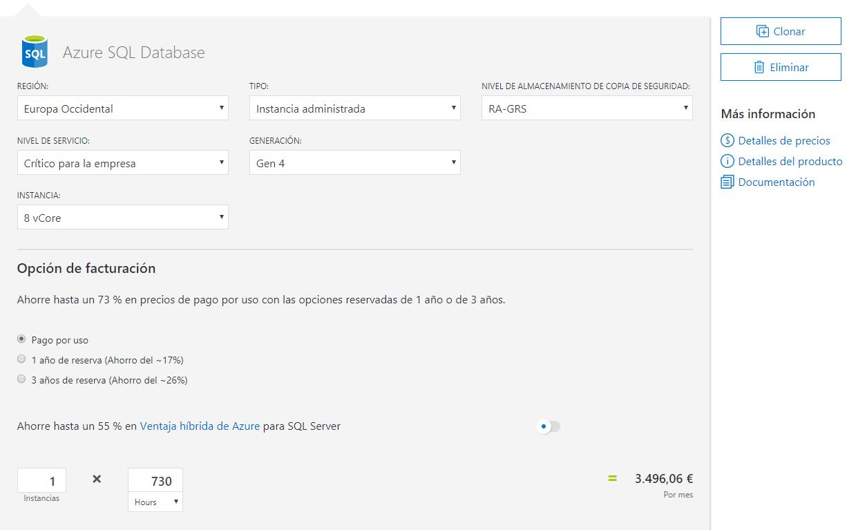 azure database