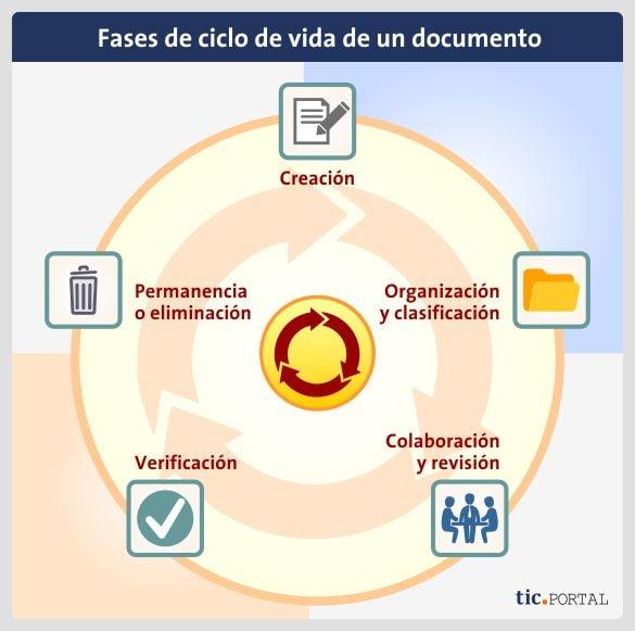etapas ciclo vida documento
