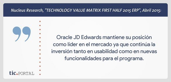 jd edwards enterpriseone cita nucleus research