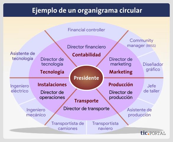 organigrama-circular