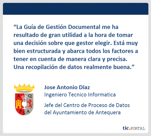 review guia gestion documental