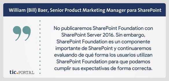 sharepoint 2016 foundation bill baer