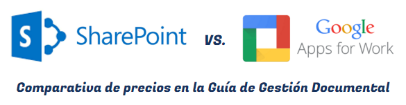 sharepoint vs google apps for work comparativa