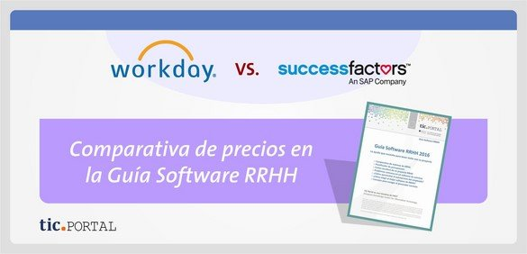 workday successfactors precio comparativa